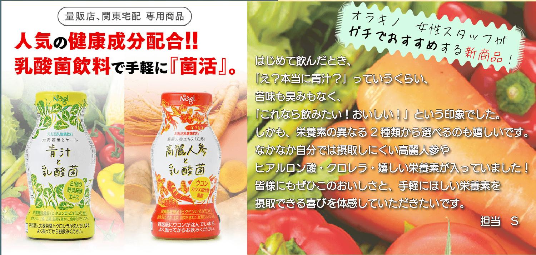 株式会社ノーベル 青汁 高麗人参 乳酸菌 飲料 乳製品乳酸飲料